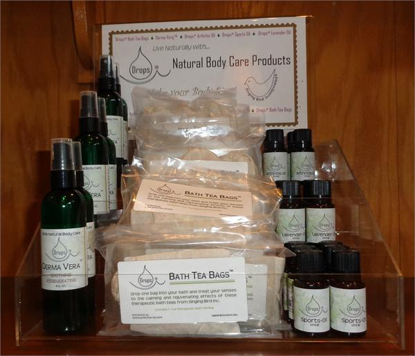 Make your body sing with natural body products from Singing Bird Inc.