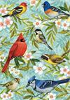 Toland Flag, Bird Collage - Garden Flag