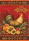 Toland Flag, Fall Rooster - Garden Flag