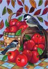 Toland Flag, Apple Basket - Garden Flag
